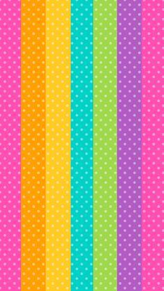 Papel decó con rayas de colores