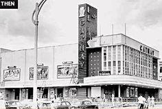 Title - Cathay Cinema / Year - 1960's / Location - Kuala Lumpur / Description - Cathay Cinema - Road in front of cinema is Jalan Bukit Bintang