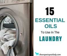 Do you want to have fresh smelling, sanitized clothes? Then these 15 essential oils to use in the laundry are for you! Essential Oils For Laundry, Essential Oil Chart, Oregano Essential Oil, Chamomile Essential Oil, Oregano Oil, Lemongrass Essential Oil, Orange Essential Oil, Essential Oil Uses, Tee Tree Oil