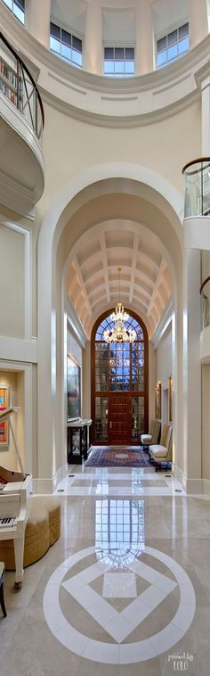 Luxury Entrance FOYER |  Via ~LadyLuxury~