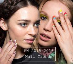 Fall/ Winter 2015-2016 Nail Trends  #nails #nailart