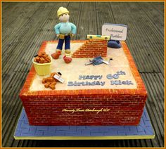 Image result for bricklayer cake