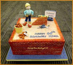 Image result for bricklayer cake