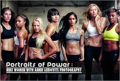 Portraits Of Power: Nike Women With Annie Leibovitz Photography