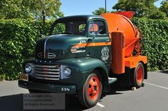 1950 Ford F-6 COE ready mix truck