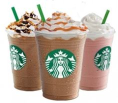 Mark your calendar for the next Starbucks® Happy Hour! I have all of the best Starbucks Coupons & Sales with discounts on drinks in stores! Starbucks Frappuccino, Starbucks Coffee, Starbucks Drinks, Coffee Drinks, Iced Coffee, Starbucks Coupon, Starbucks Caramel, Caramel Frappuccino, Mugs