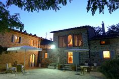 House in Castra, Italy. The barn is a house restored with original materials cooked beamed stone with all the necessary comforts for a holiday in peace and relaxation, surrounded by gardens, olive groves and woods and a small square stone.  The position and Barn ' in the...