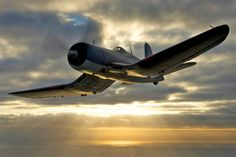 Beautiful photo of a Corsair....