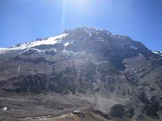 The Stone Sentinel, Aconcagua photo taken from Cerro Bonete. © 2012 Andes Mountain Guides