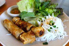 Crispy Imperial Rolls. The Slanted Door - San Francisco, Vietnamese food.
