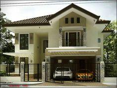 House Outside Design, House Front Design, Modern House Design, Modern Bungalow House, Modern House Facades, Carport Patio, Archi Design, My House Plans, Dream House Exterior