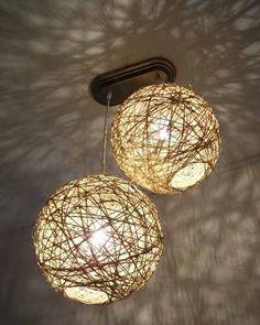 esferas de hilo decoracion - Buscar con Google