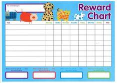 144 Best Printable Reward Charts Template Images Printable