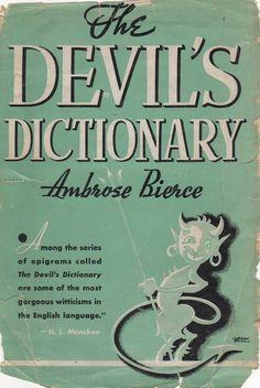 Dustjacket, Ambrose Bierce, The Devil's Dictionary