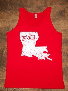 Louisiana Y'all Shirt | Hillcrest Waterbugs | Bourbon & Boots