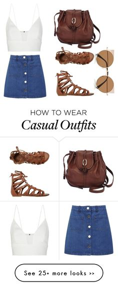 """Casual"" by mariaharve on Polyvore"