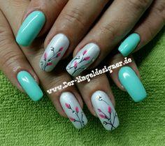 Nails, Design, Painting, Beauty, Finger Nails, Ongles, Painting Art, Nail, Cosmetology