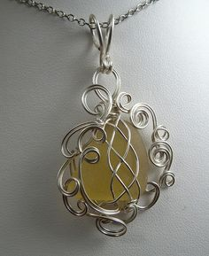 BeachGlass-Yellow-02 by Gayle Bird Designs, via Flickr