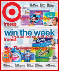 ***ANOTHER SUPER EARLY TARGET AD SCAN*** Here is the Target Ad Scan for 3/19 to 3/25/17! Click the PICTURE below to BROWSE the ACTUAL Ad Scan ► http://www.thecouponingcouple.com/target-ad-scan-for-3-19-to-3-25-17/  ***Please HELP us Out by Using the Share buttons in the Actual Post to SHARE this Ad Scan with Your Family & Friends and To Help Us Spread the Word***  Visit us at http://www.thecouponingcouple.com for more great posts!