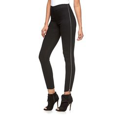 Women's Jennifer Lopez Zipper Jeggings, Size: