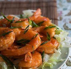 Happy Shrimp Stir Fry (alternate photo)