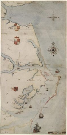 Pirates Treasure Chest Map on Golden Brown Sure Strip Wallpaper BT2816 Pirate