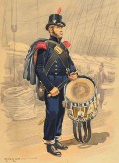 Tamburo della Marina francese