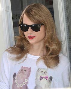 Taylor's  new haircut