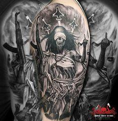 Justicia Tattoo by Mehdi Rasouli broken tooth tattoos Tooth Tattoo, Teeth, Black And Grey, Darth Vader, Tattoos, Fictional Characters, Righteousness, Tatuajes, Tattoo