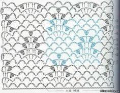 Crochet Stitches, Crochet Patterns, Crochet Diagram, Yandex, Knits, Stitching, Ponchos, Cute Stuff, Blue Prints