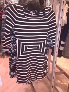 Optical Illusion dress at Charlotte Russe store.