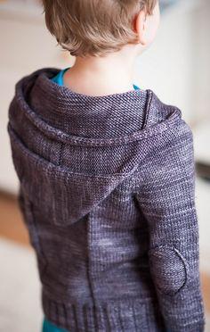 Ravelry: Little Spring Hoodie pattern by Suvi Simola