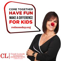 It's #RedNoseDay!   Sharing a laugh brings people together.  People across the country are wearing Red Noses and organizing FUN-raisers all to help kids who need it most. #CLRE2016    To donate, visit http://rednoseday.org/