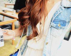 Denim jacket + dress