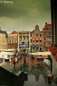 Rain over the City,stad,Groningen,the Netherlands. | Flickr - Photo Sharing!