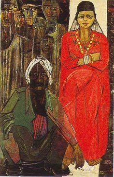 Painter Artist, Artist Painting, Black Art Painting, Egypt Art, African Artists, Arabic Art, Artist At Work, Art And Architecture, Folk Art