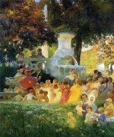Gaston La Touche ~ Post-impressionist painter | Tutt'Art@ | Pittura * Scultura * Poesia * Musica |