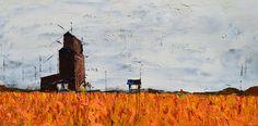 Lobby Cam oil painting  New artwork opening March 29th on Immersiva. Machinima trailer www.youtube.com/watch?v=MZ6o9DgWz18