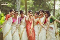 #hinduwedding #templewedding #hindubride #malayaleebride #keralabride #kerala #india #malayalee #keralasaree #bridesmaids
