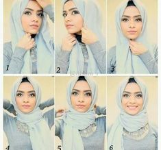 We've got 7 quick hijab tutorials that are perfect for busy mornings and moments when you're in a rush!