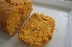 Simple Vegetarian Recipes: Carrot and Pineapple Loaf