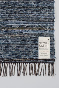 Nudie Jeans has created rugs out of recycled jeans and we are in LOVE. What a perfect way to add a home-y touch to your glampsite.
