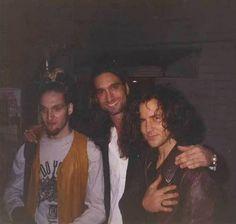 sadejude: Layne Staley, Johnny Bacolas, Eddie Vedder, January 8, 1995