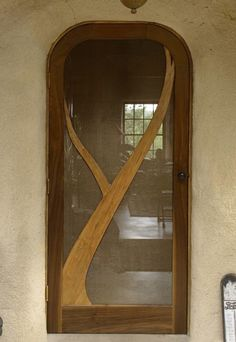 Hand Made Ric's Screen Door by Deep Eddy West | CustomMade.com