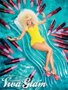 Nicki Minaj, MAC Viva Glam Ad