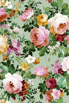 Iphone Wallpaper Herbst, Free Desktop Wallpaper, Fall Wallpaper, Flower Wallpaper, Art Floral, Peony Drawing, Vintage Floral Wallpapers, Flora Flowers, Gardening