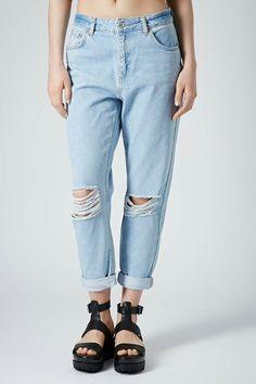 No Joke Distressed Canvas Jeans su6YoBVTx