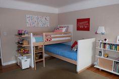 Bunkbed Idea - add desk space?