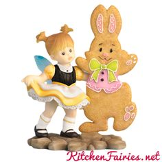 Easter Bunny Dance Fairie - From Series Thirty Eight of the My Little Kitchen Fairies collection