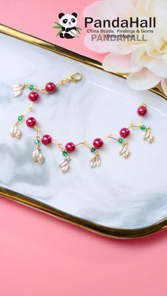 Handmade Wire Jewelry, Diy Crafts Jewelry, Vintage Jewelry, Diy Bracelets Easy, Thread Jewellery, Beaded Bracelet Patterns, Jewelry Making Tutorials, Diy Earrings, Creations
